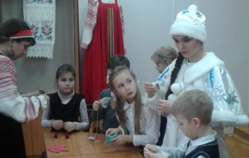 ДЕТИ В ЦЕНТРЕ НАРОДНОГО ТВОРЧЕСТВА